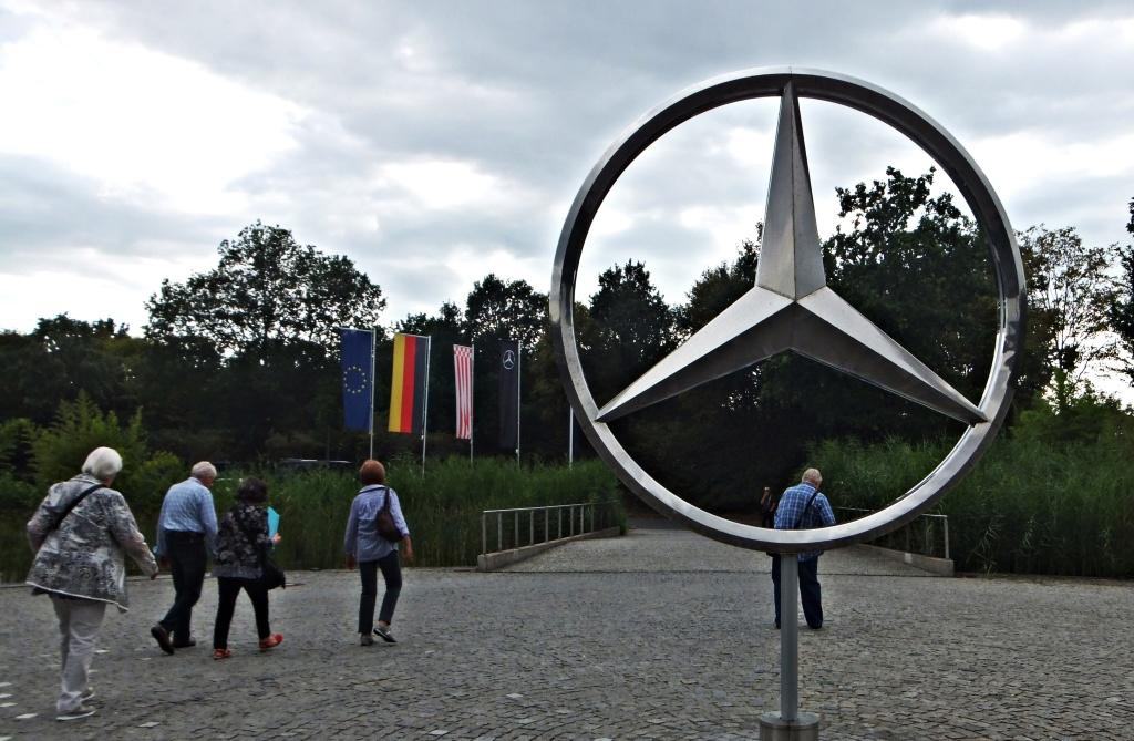 Werkbesichtigung bei Mercedes in Bremen