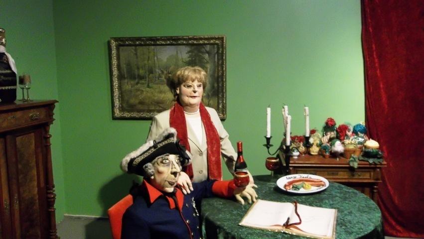Angie mit dem alten Fritz