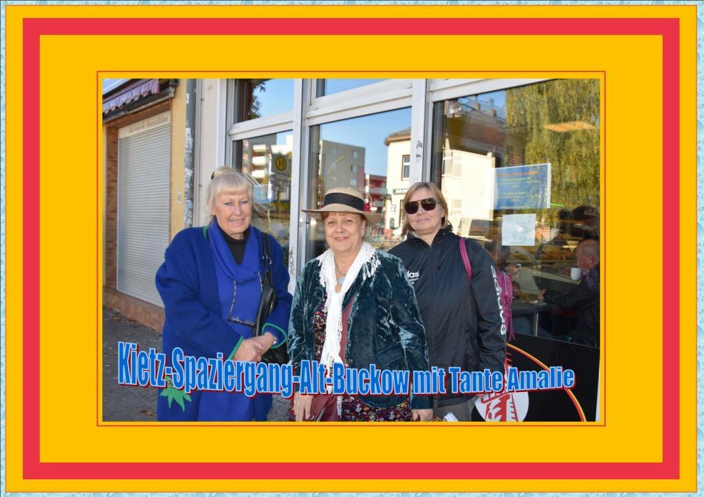 Kietz-Spaziergang-Alt-Buckow mit Tante Amalie