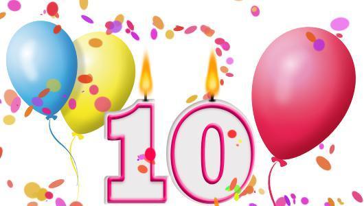 Gratulation Zum 10 Geburtstag