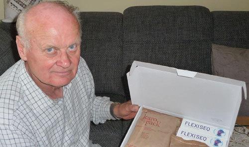 Flexiseq-Paket kommt bei Scout an © Mitglied