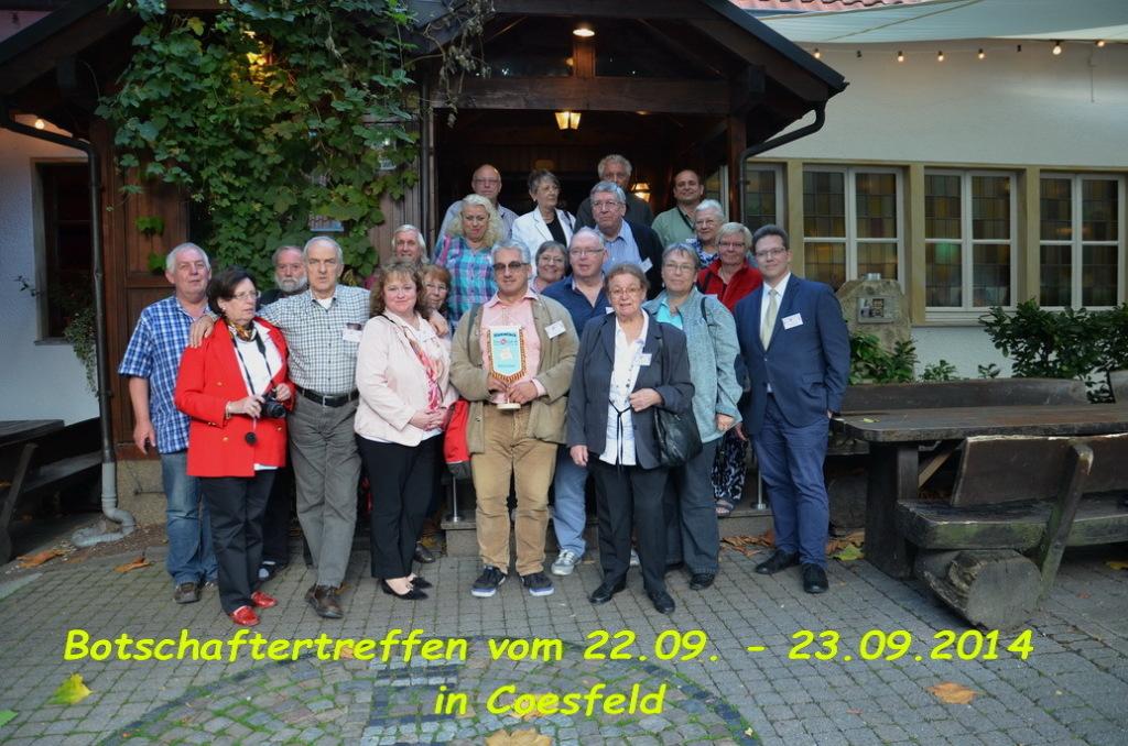 Regionalbotschaftertreffen, Coesfeld 2014