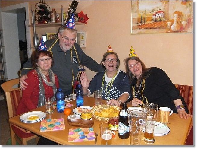 Doris, Volkhart, Ingrid und Ingrid