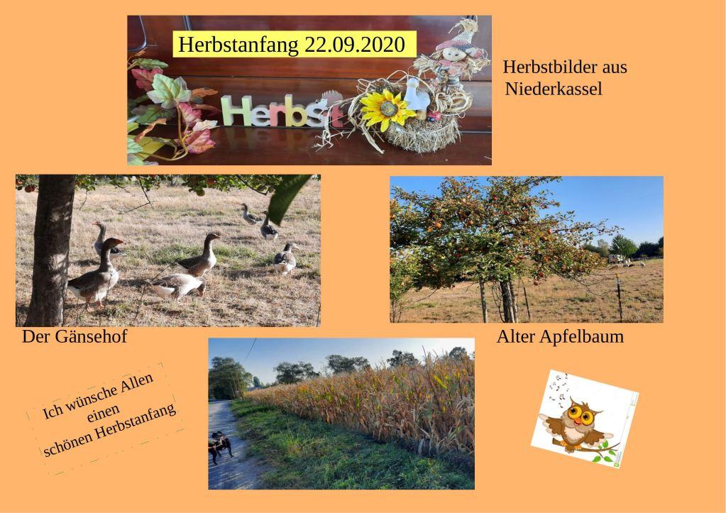 Herbstanfang 22.09.2020