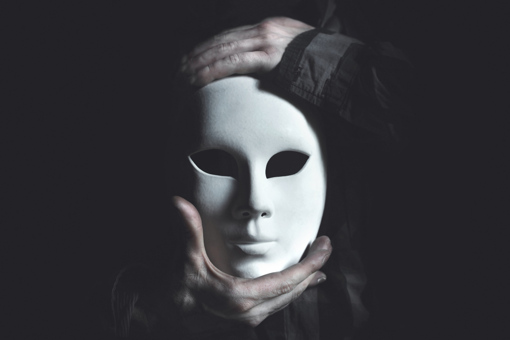 Pantominenmaske