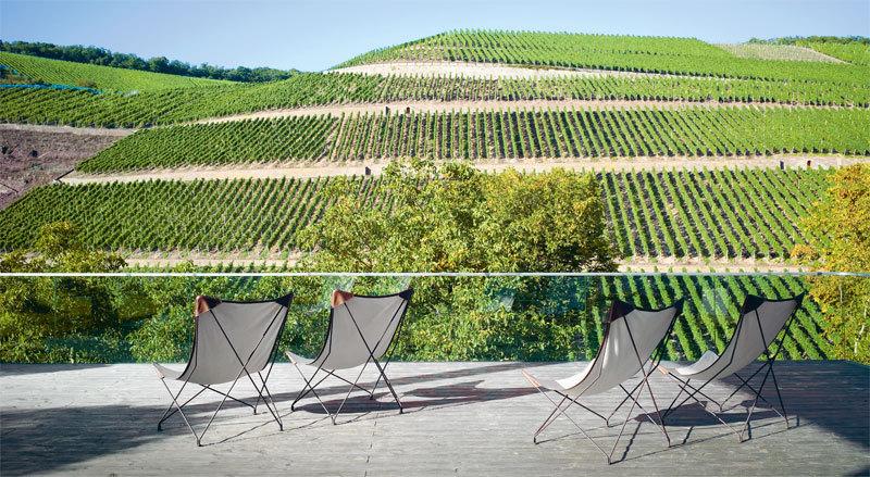 Blick auf den Wein, Hermannsberg - S.50-51 in Die Architektur des Weines © avedition