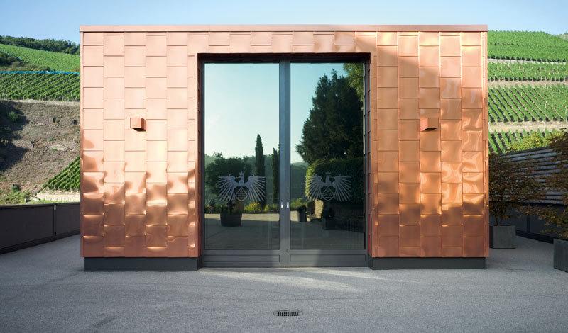 Kelterhalle Hermannsberg - S.54 in Die Architektur des Weines © avedition