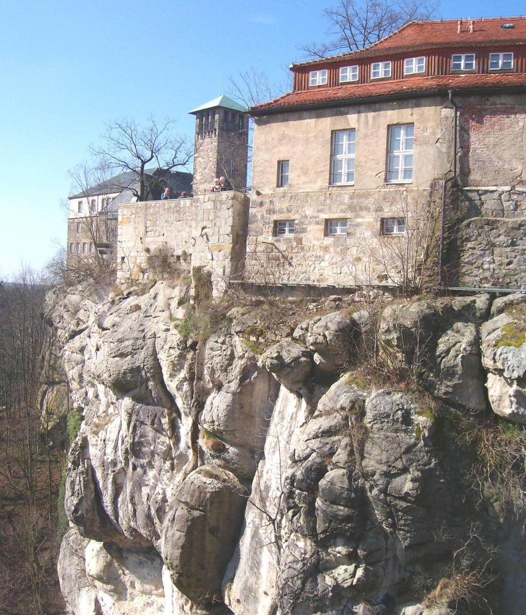 steile Felsen