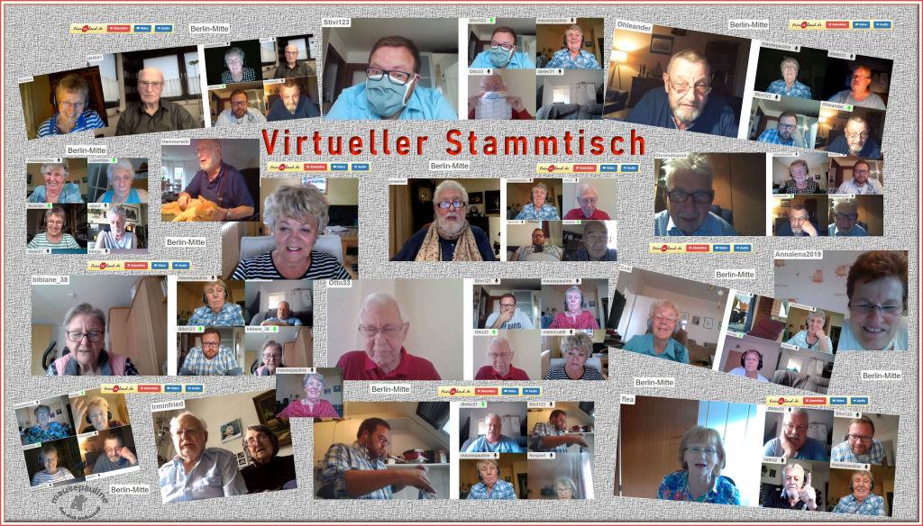 Virtueller Stammtisch in unserer Regionalgruppe