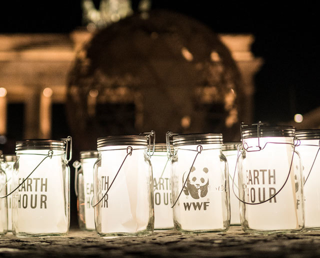 WWF Earth Hour Gläser