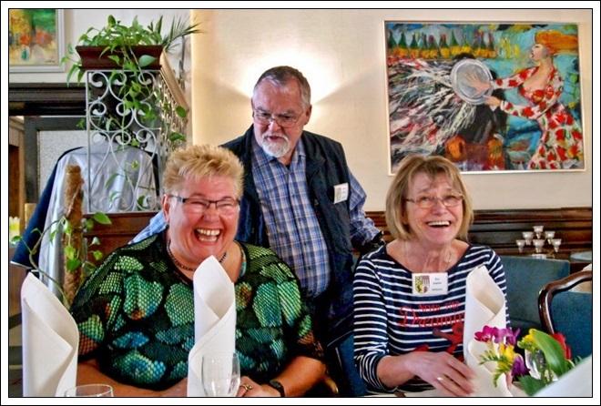 Hannelore, Volkhart und Evi