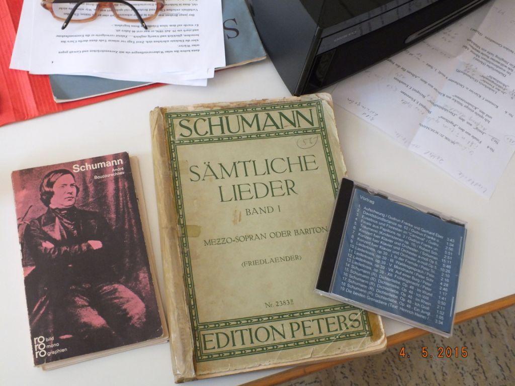 Robert Schumann-Vortrag
