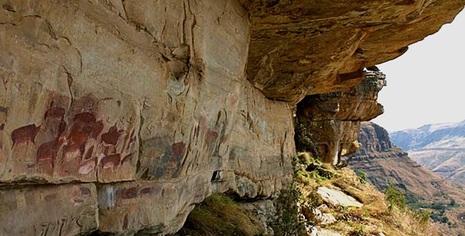 drakensberg rock art-2