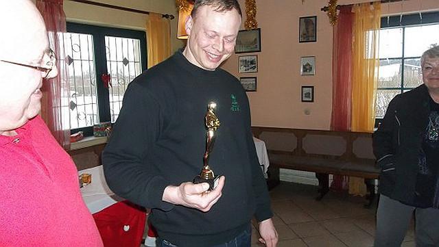 glückliche Oskargewinner