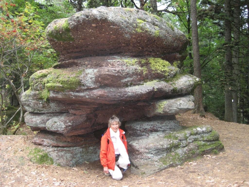 Höhlenfrau