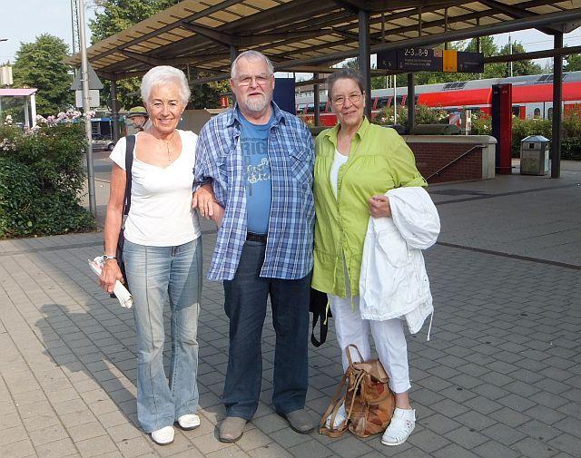 Uschi, Volkhart und Ingrid