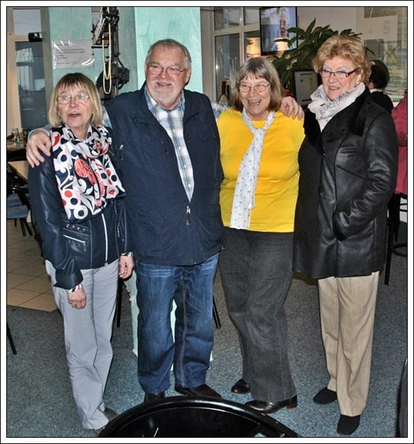 Evi, Volkhart, Ingrid und Bärbel