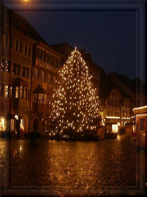 Weihnachtsgrüße Als Tannenbaum.Weihnachtsgrüße