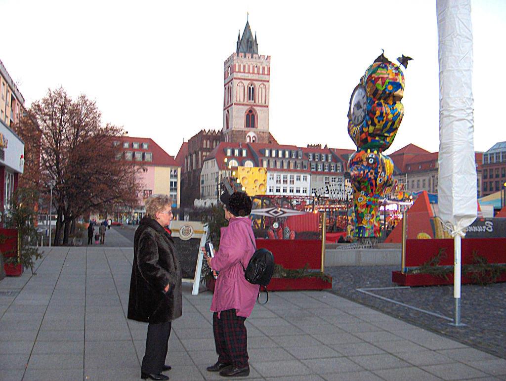 noch ein Blick über den Weihnachtsmarkt