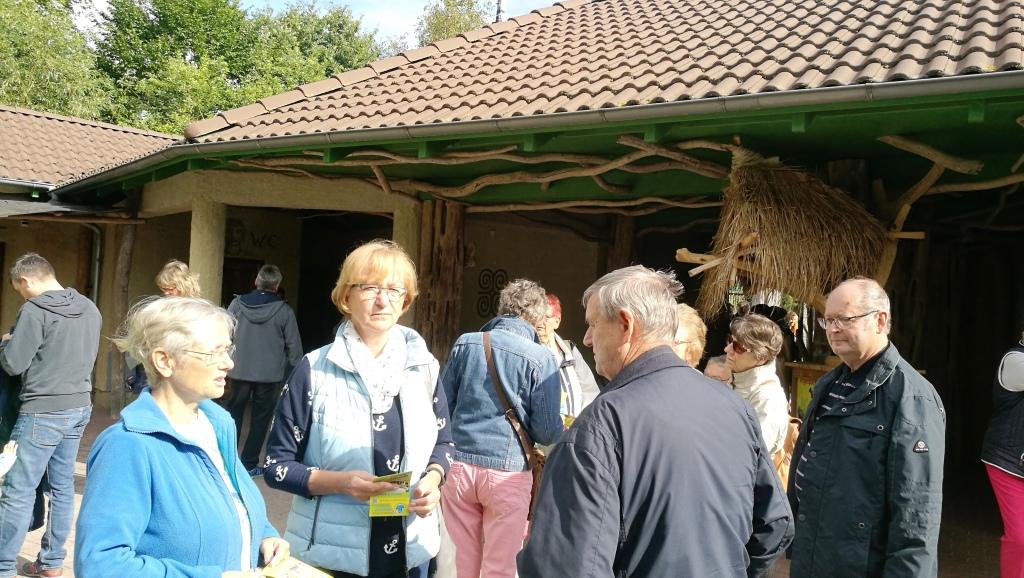 Besuch Vogelpark Marlow