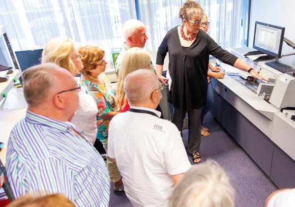 Feierabend-Mitglieder zu Gast bei der Europa Apotheek