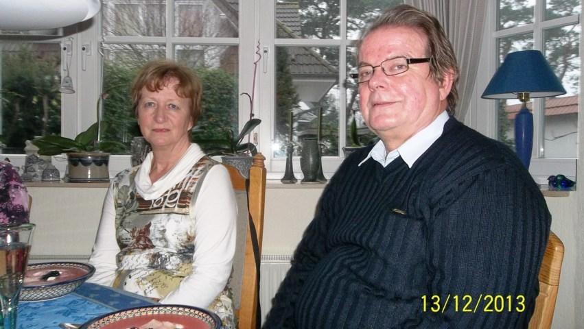 Blacky mit seiner Frau Christine