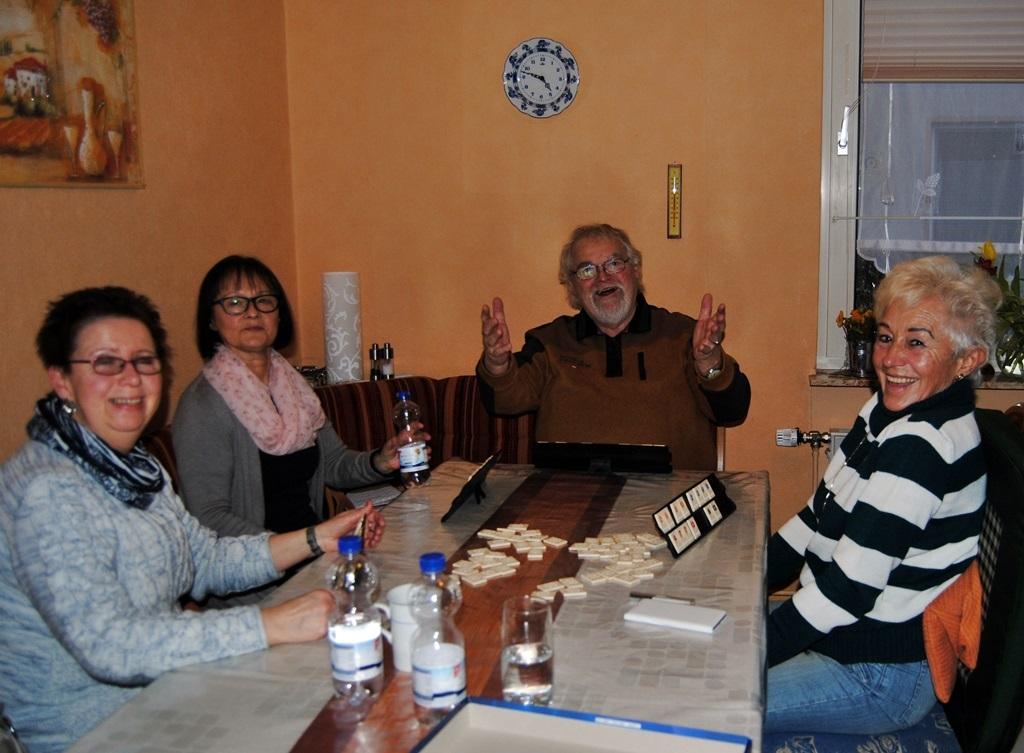 Annemarie, Sylvia, Ecki und Uschi