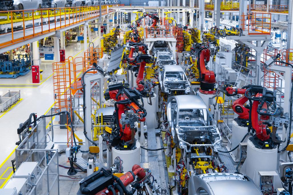 Produktion Auto
