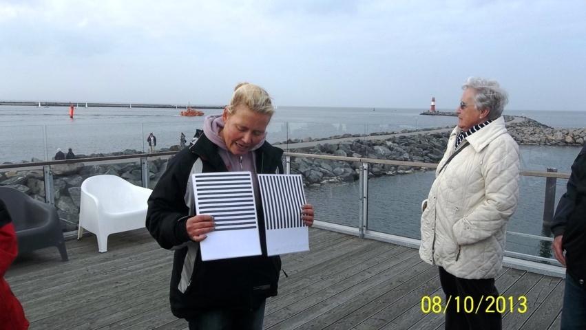 Versuchtafeln für die Robben