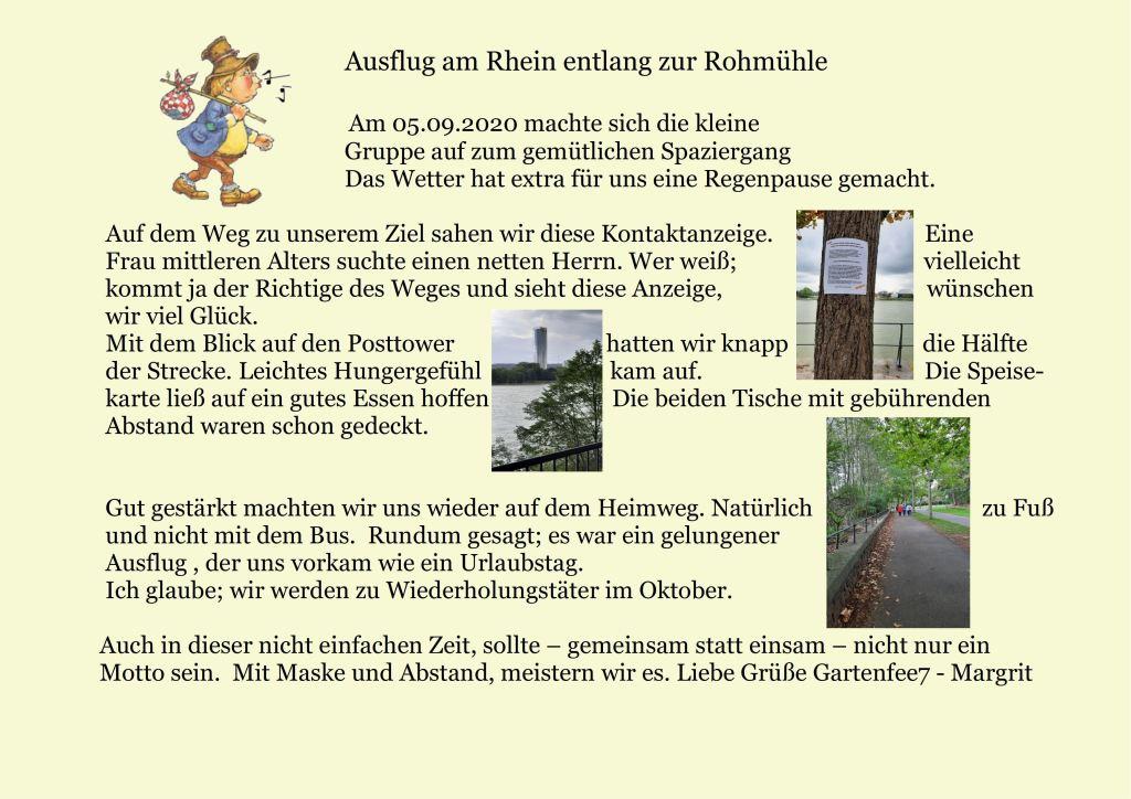 Rheinspaziergang Rohmühle