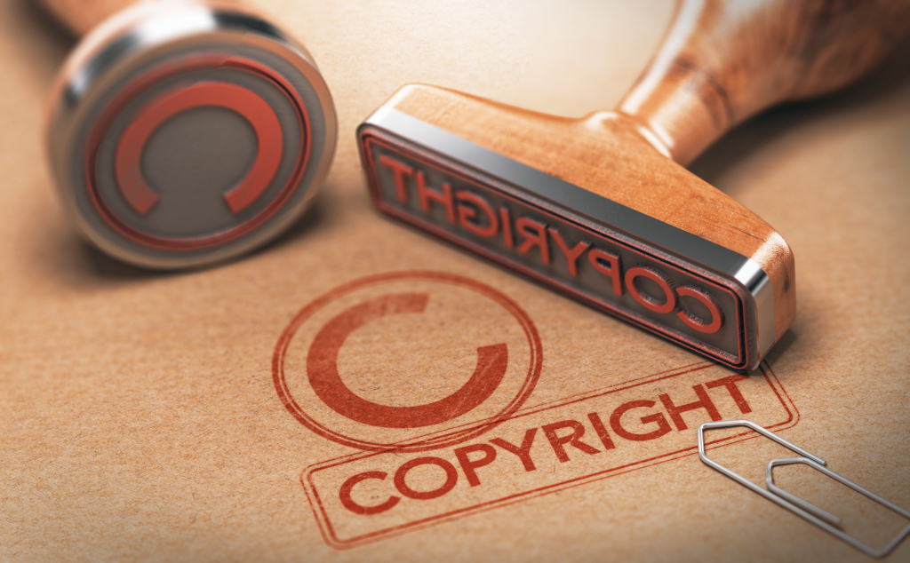 Copyright Stempel