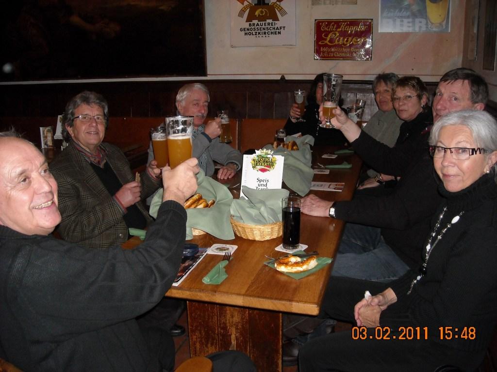 Treffen in Augsburg am 03.02.2011