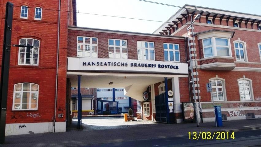 die hanseatische Brauerei Rostock