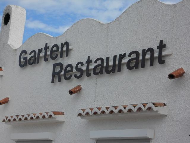 Garten-Restaurant