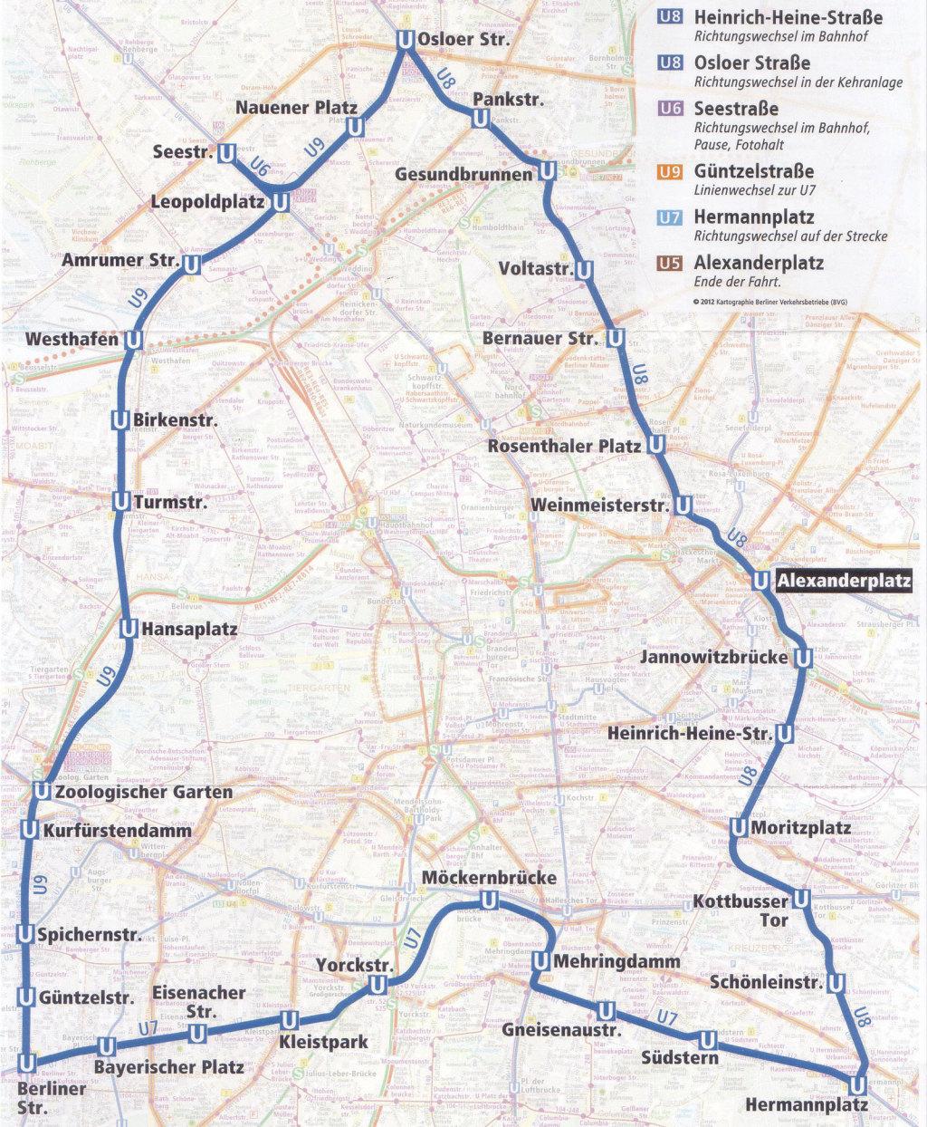 BVG-Tourplan