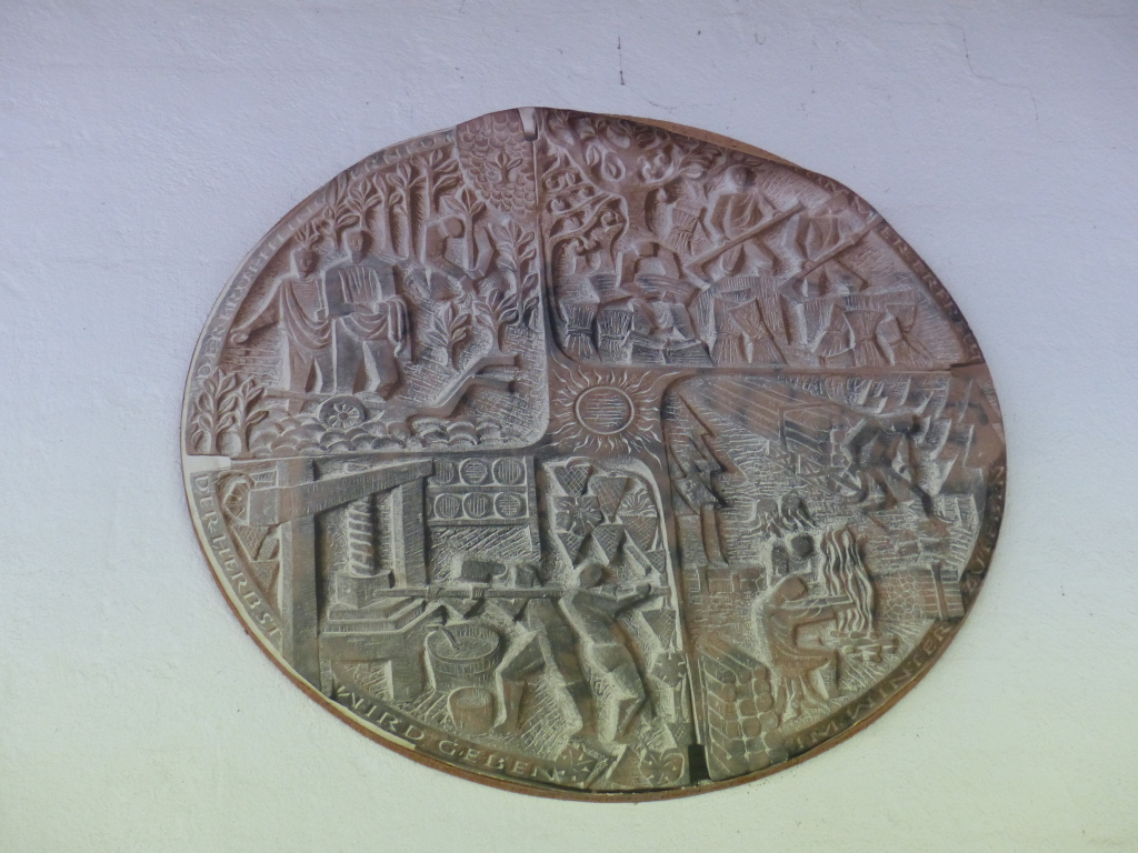 Sein Meisterstück hängt in einer Bank in Bad Krozingen.