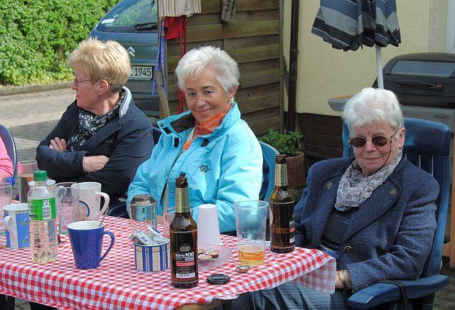 Edith, Uschi und Anne-Dore