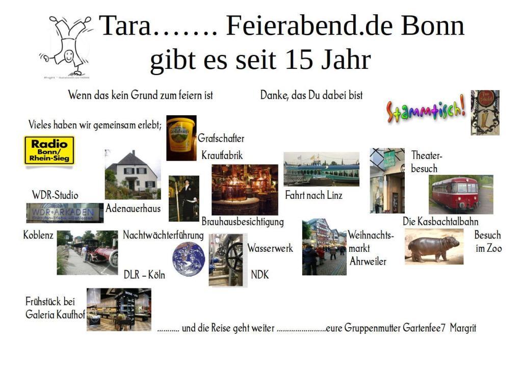 15 Jahre Feierabend.de Bonn