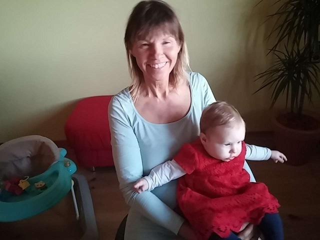 Margit mit Zoey