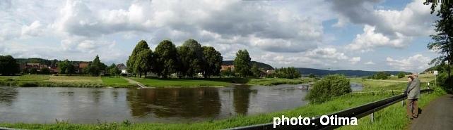 Wahmbeck Panorama von Hessen aus
