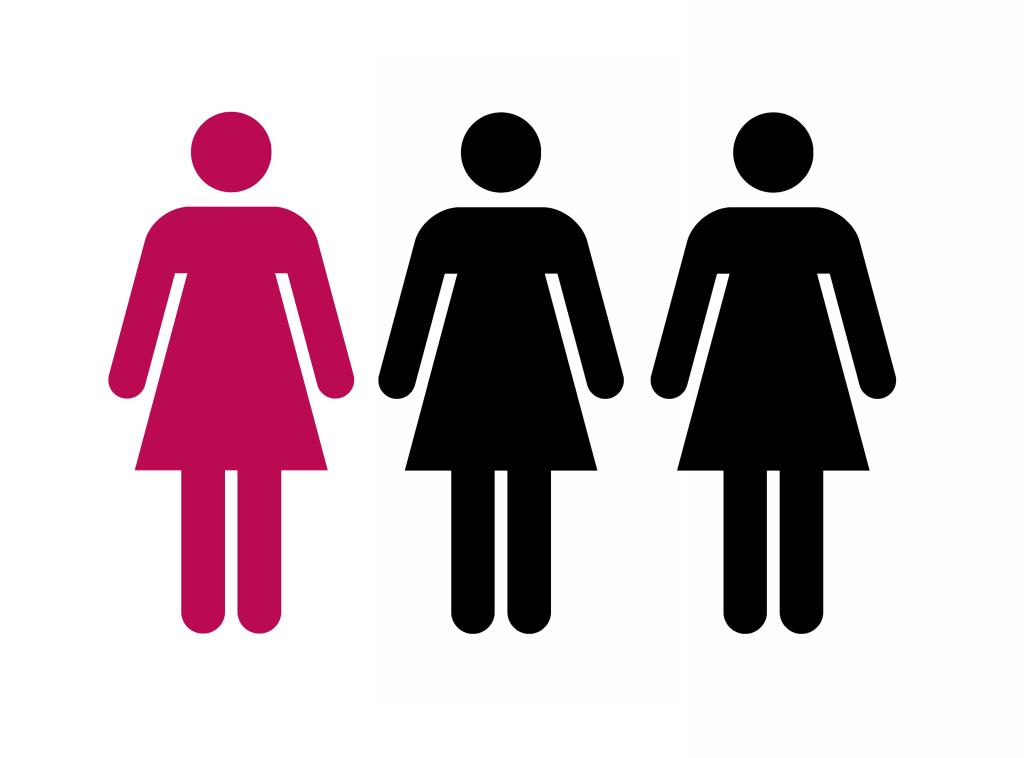 Grafik betroffener Frauen