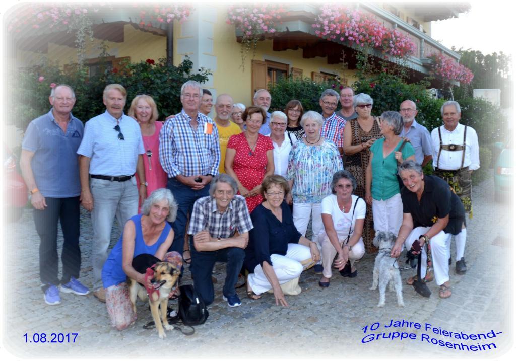 10 Jahre Feierabend-Regonalgruppe Rosenheim