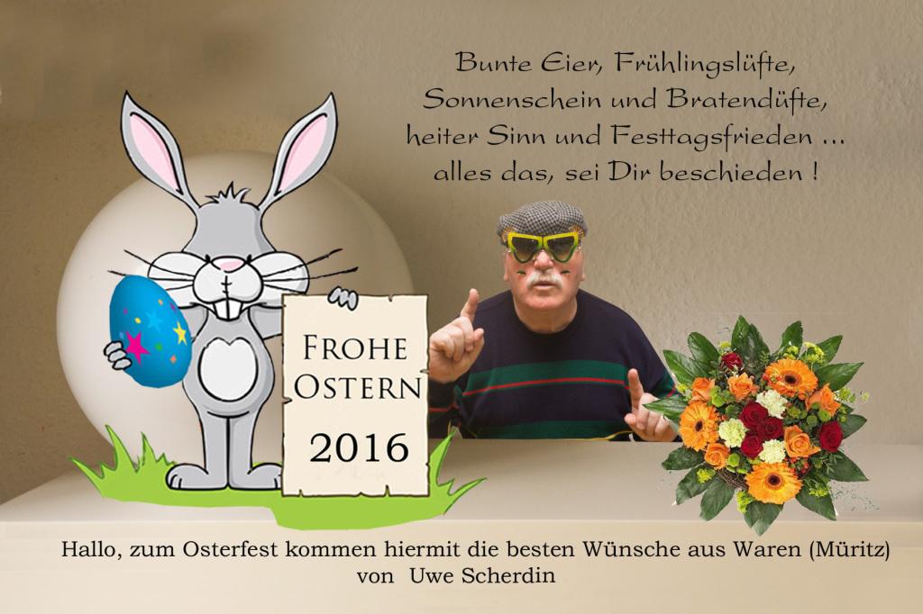 Frohe Ostern mit Uwe
