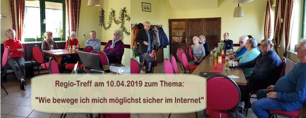 Regio-Treff am 10.04.2019