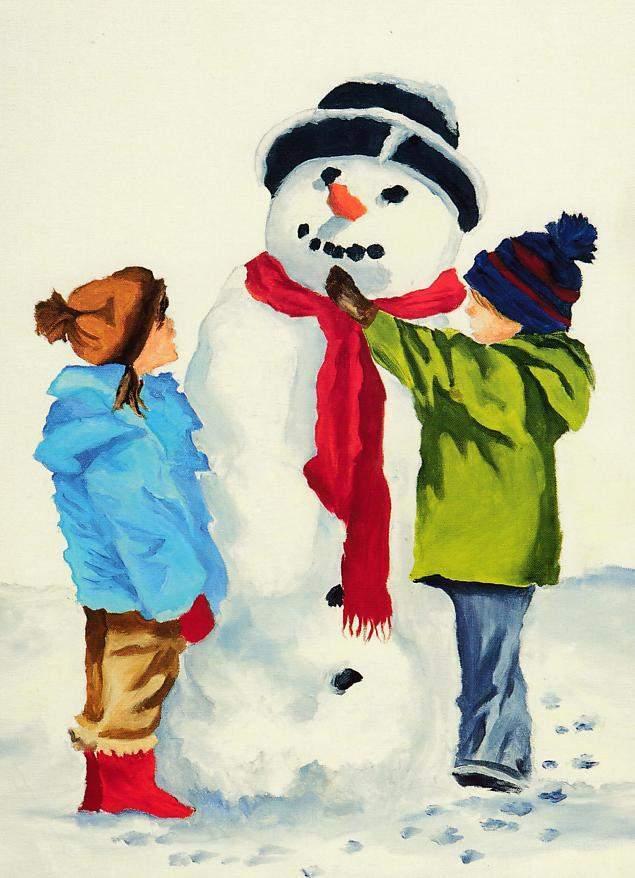 ... der Schneemann