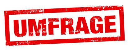 Grafik Umfrage, © Thomas Graf - fotolia.com