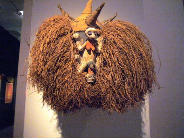 Maske Ausstellungsobjekt Museum Basel