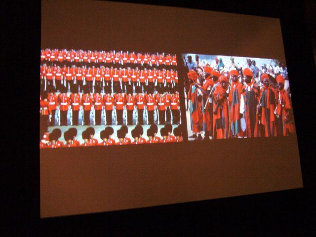 Militärparade Filmausschnitt