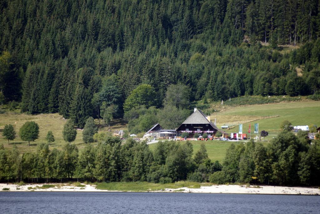 Schluchsee im Augustm 2015
