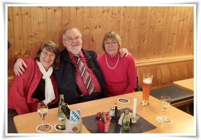 Ingrid, Volkhart und Evi